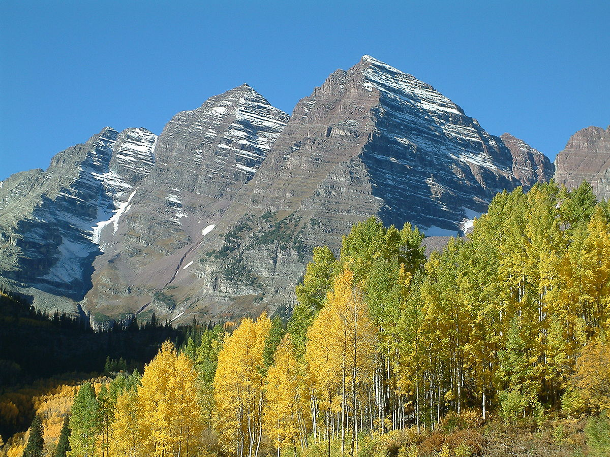 4 Climbers Airlifted From Maroon Bells Aspen Co After