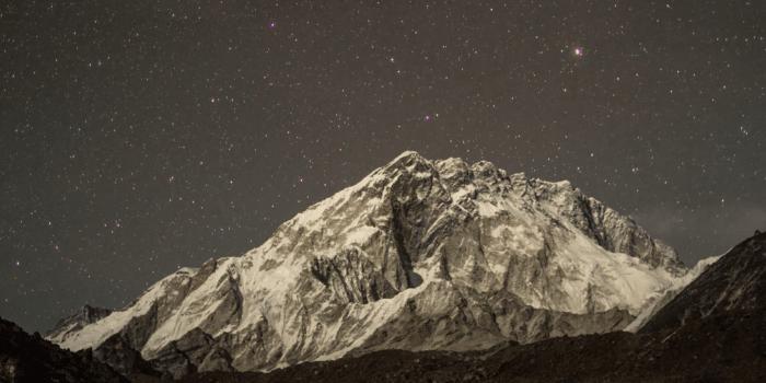 Starry Night over Mt. Everest