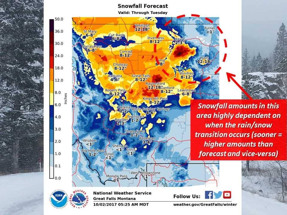 winter storm warning is still in effect in mt