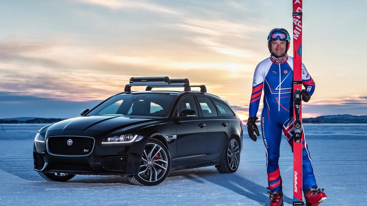 graham bell, towed, ski, world record,