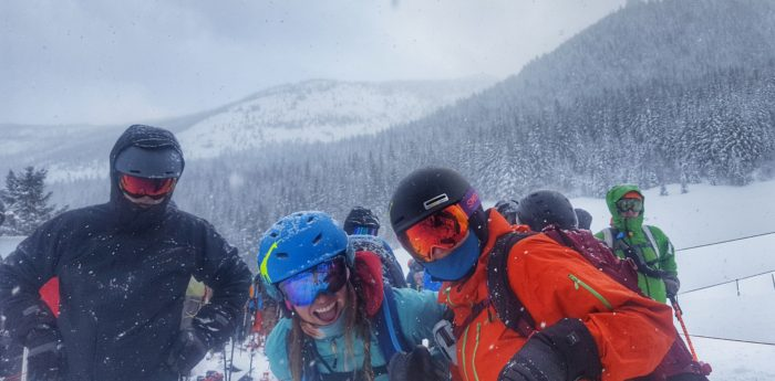 Crystal mountain, shejumps