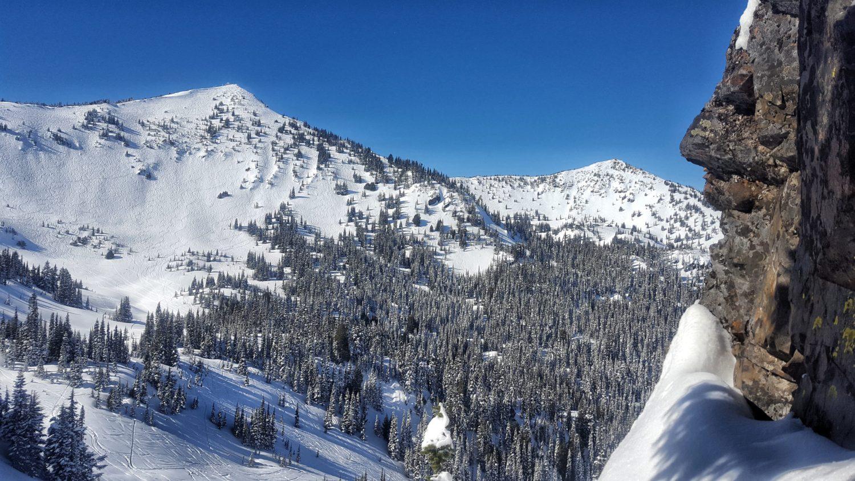 Crystal mountain, Reid Pitman