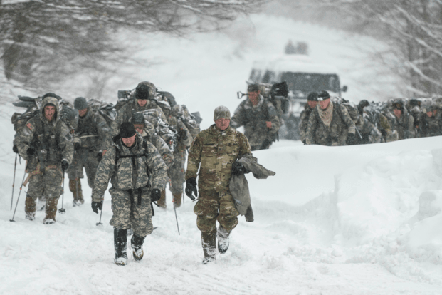 Vermont, smugglers notch, avalanche, soldiers