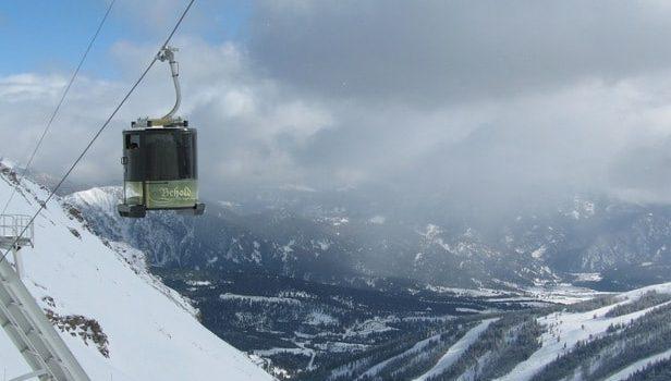 montana, big sky, lone peak tram, record laps