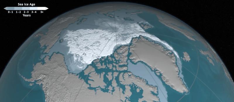 arctic, sea ice, nasa, shrinking, climate change, global warming