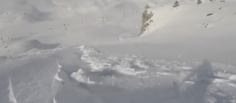 avalanche, airbag, video