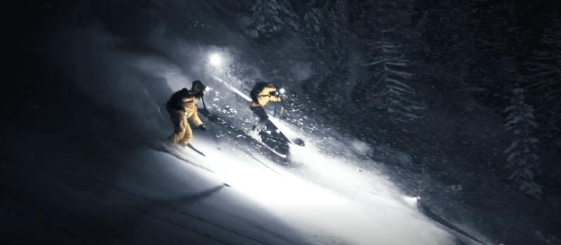 black crows, yucca films, night skiing, Chamonix, france