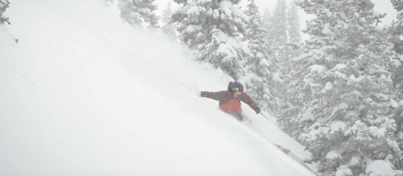 snowbird, Utah, powder day, video