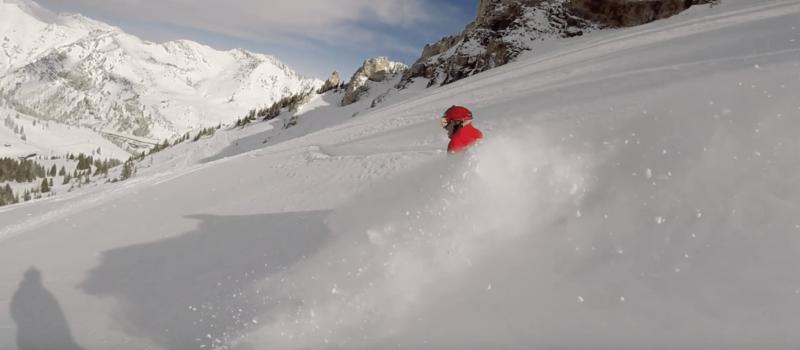 alta, Utah, video, powder day