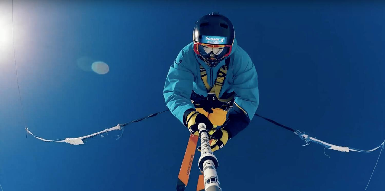 bun j, ski, tinges, france, Europe, bungee