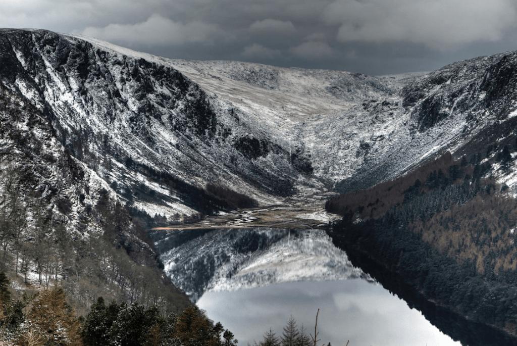 ireland, avalanche, wicklow mountains