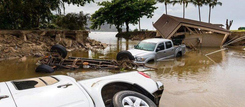 hawaii, kauai, rainfall, national record
