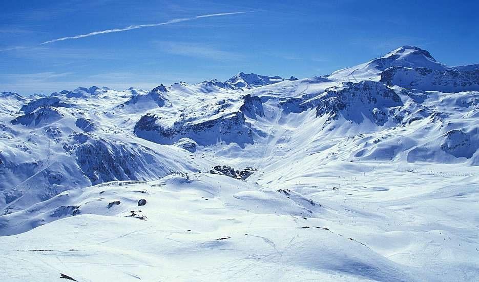 val d'isere, france, June, glacier,