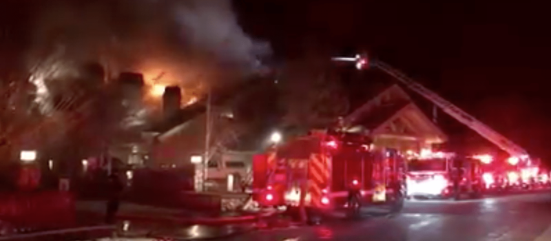 sun valley, Idaho, blaze, fire,