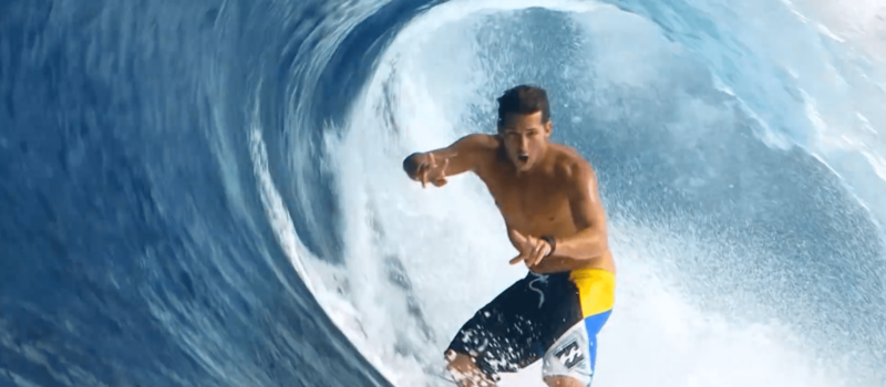Andy irons, tgr, surf