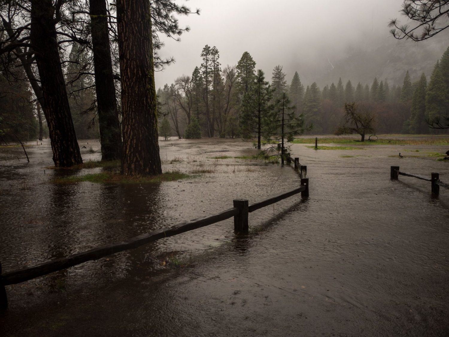 Gas Near Me Open >> Yosemite Valley, CA Floods and Waterfalls Go Off! - SnowBrains