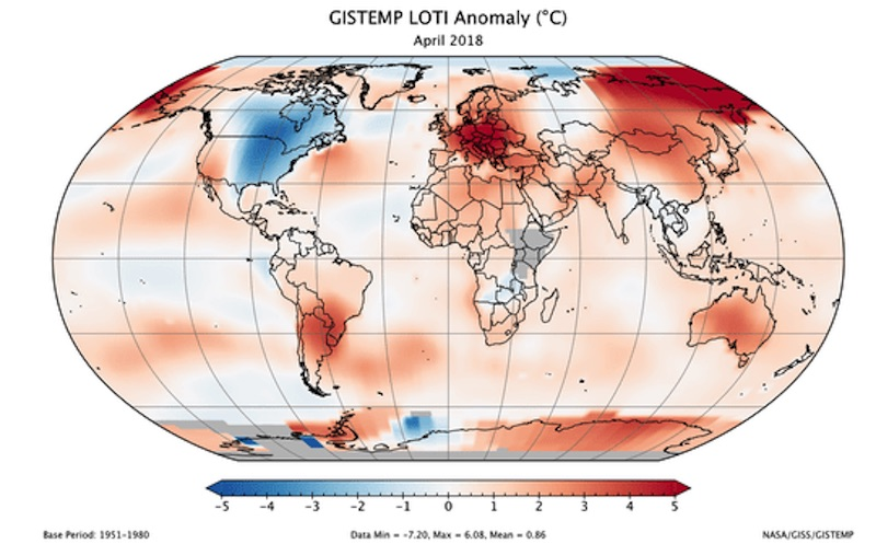 april global temp map