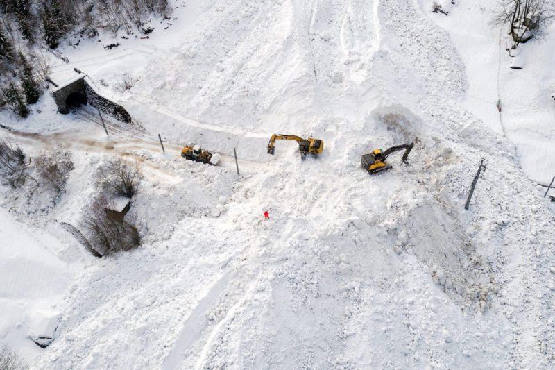 Zermatt Avalanche