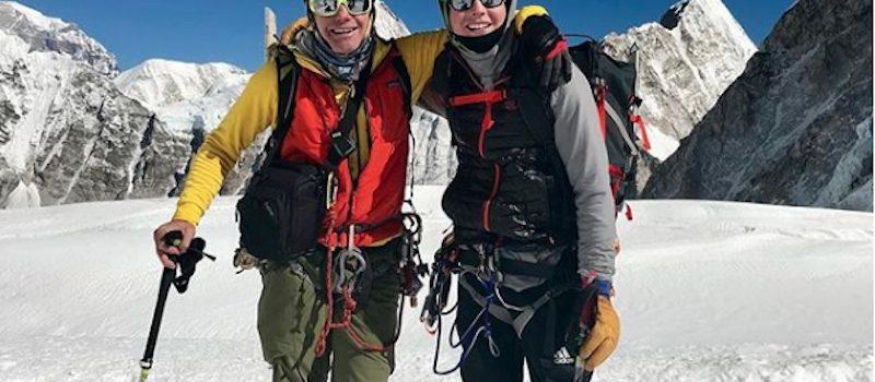 Everest illegal ski descent