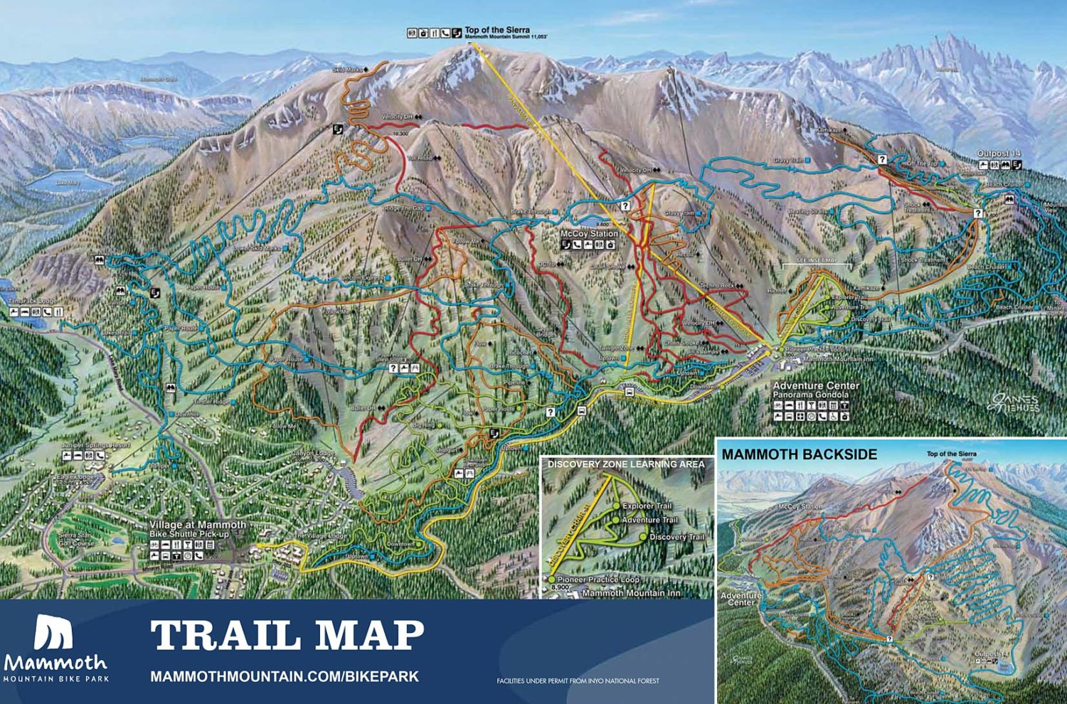 2eada32311a Mammoth Bike Park, CA Will become the First Major Downhill Park to ...