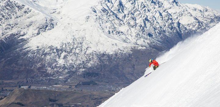 Coronet skiing