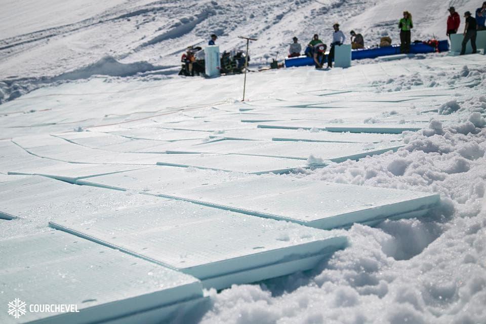 snow farming panels