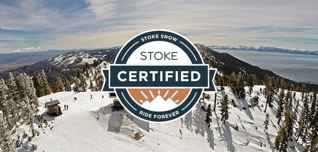 Diamond Peak STOKE badge