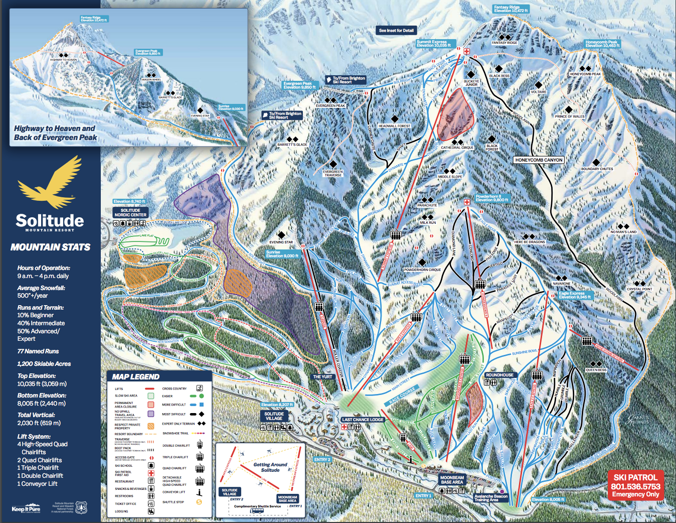 Skiing Virginia Map.Alterra Mountain Co To Acquire Solitude Mountain Resort In Utah