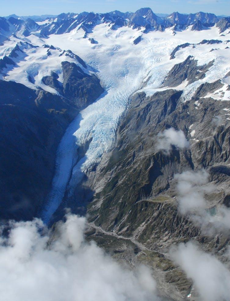 glaciers, New Zealand, receding