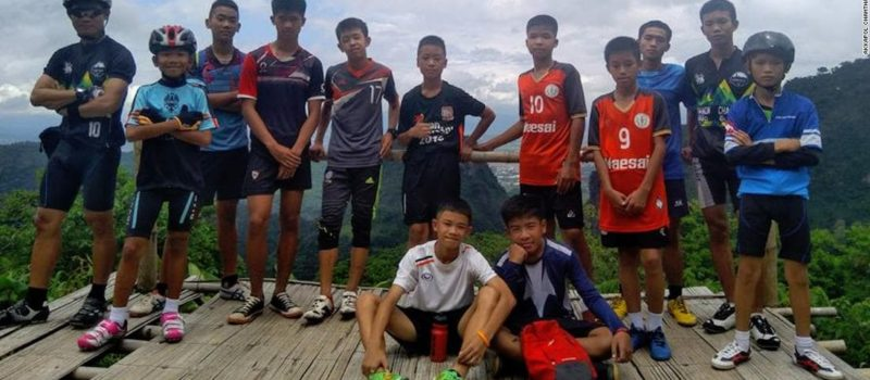 cave, Thailand, trapped underground, soccer team