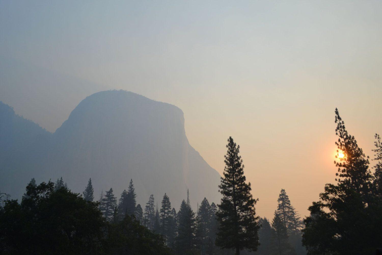 yosemite, california, wildfire, fire, smoke, air quality