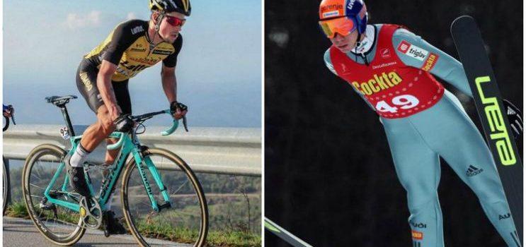 tour de france, cyclist, ski jumper