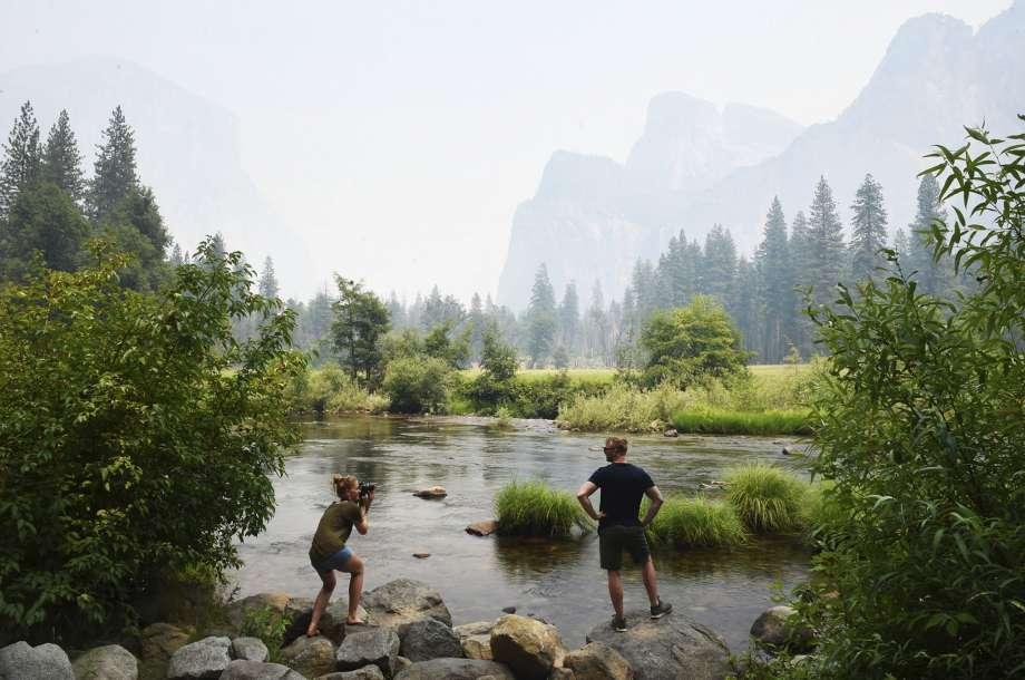 Ferguson fire, yosemite, national park, california,