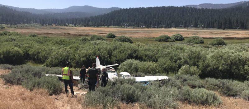 Truckee, plane crash