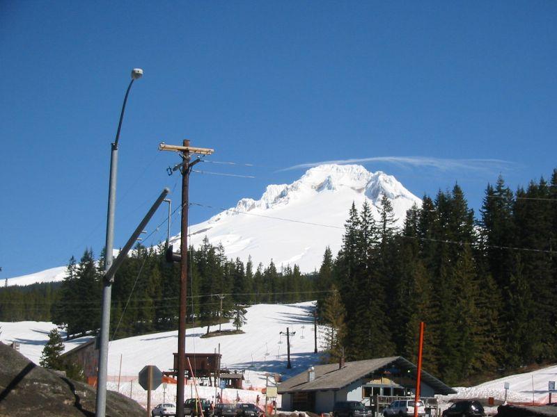 summit ski area, Oregon, timberline lodge, timberline