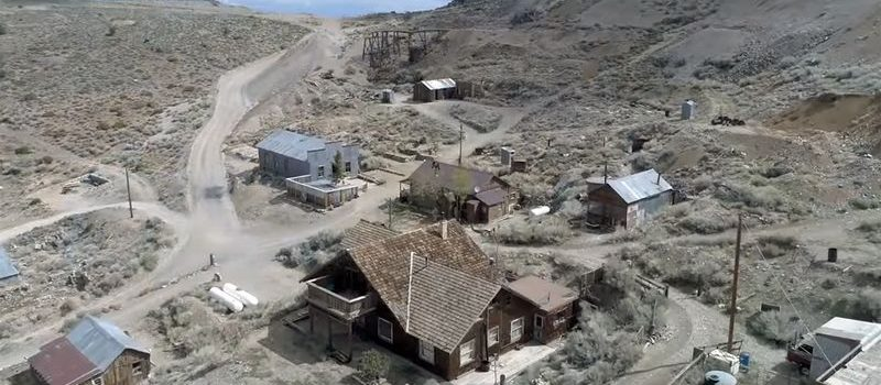 ghost town, westworld, california