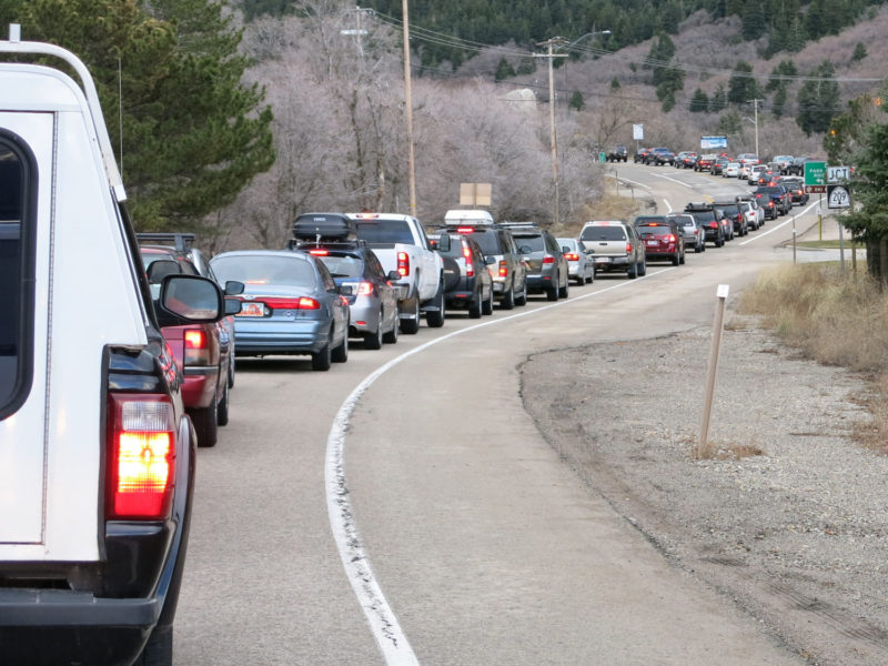 Wasatch, traffic