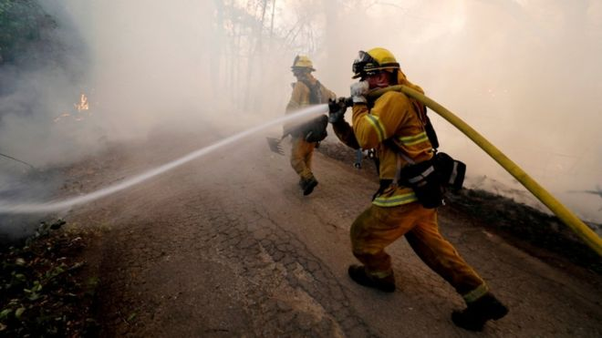 Mendocino complex, fire, wildfire, California,