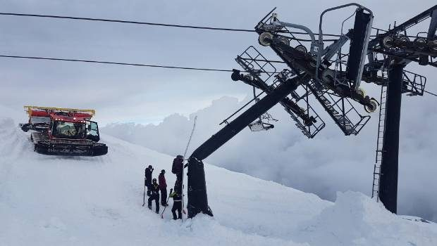 avalanche, New Zealand, chairlift, Truro