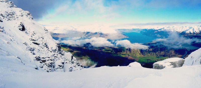 Wanaka from Above, Treble Cone summit views