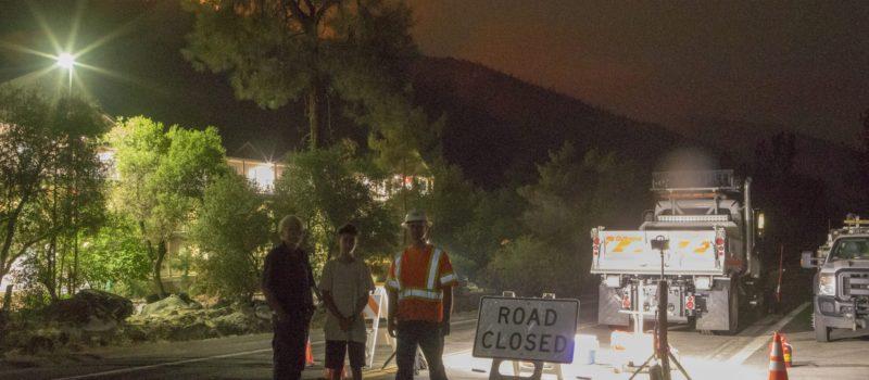 Ferguson fire, road closures, caltrans