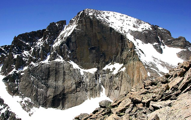 hiker missing, longs peak, Rocky Mountain national park, colorado