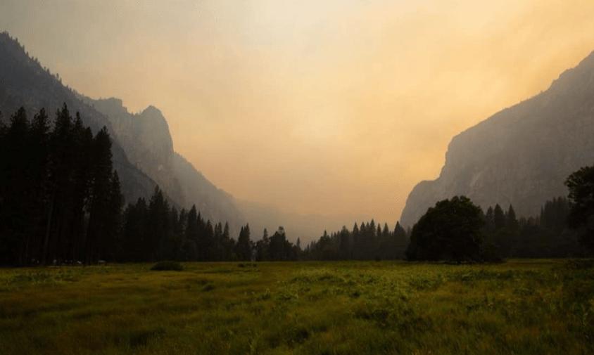 yosemite, yosemite valley, california, Ferguson fire, pollution
