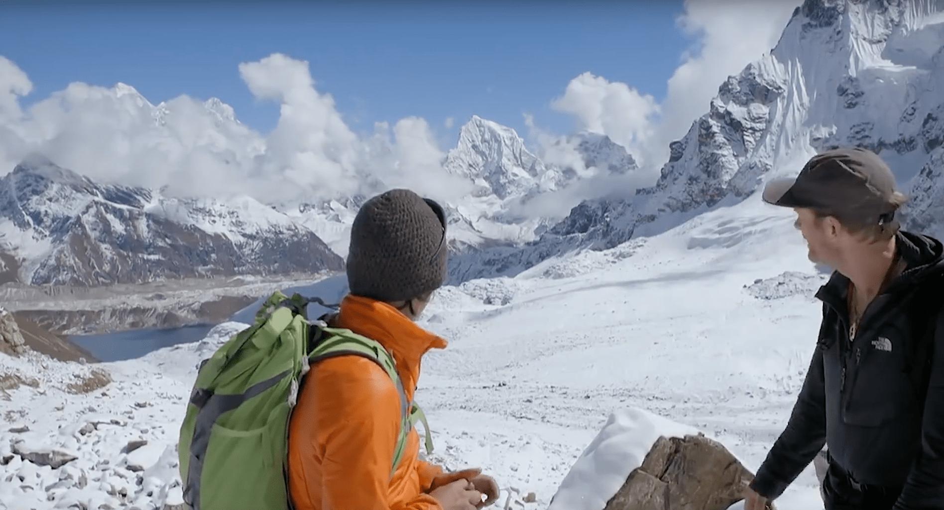 Conrad anker, climbing, himalayas, heart attack