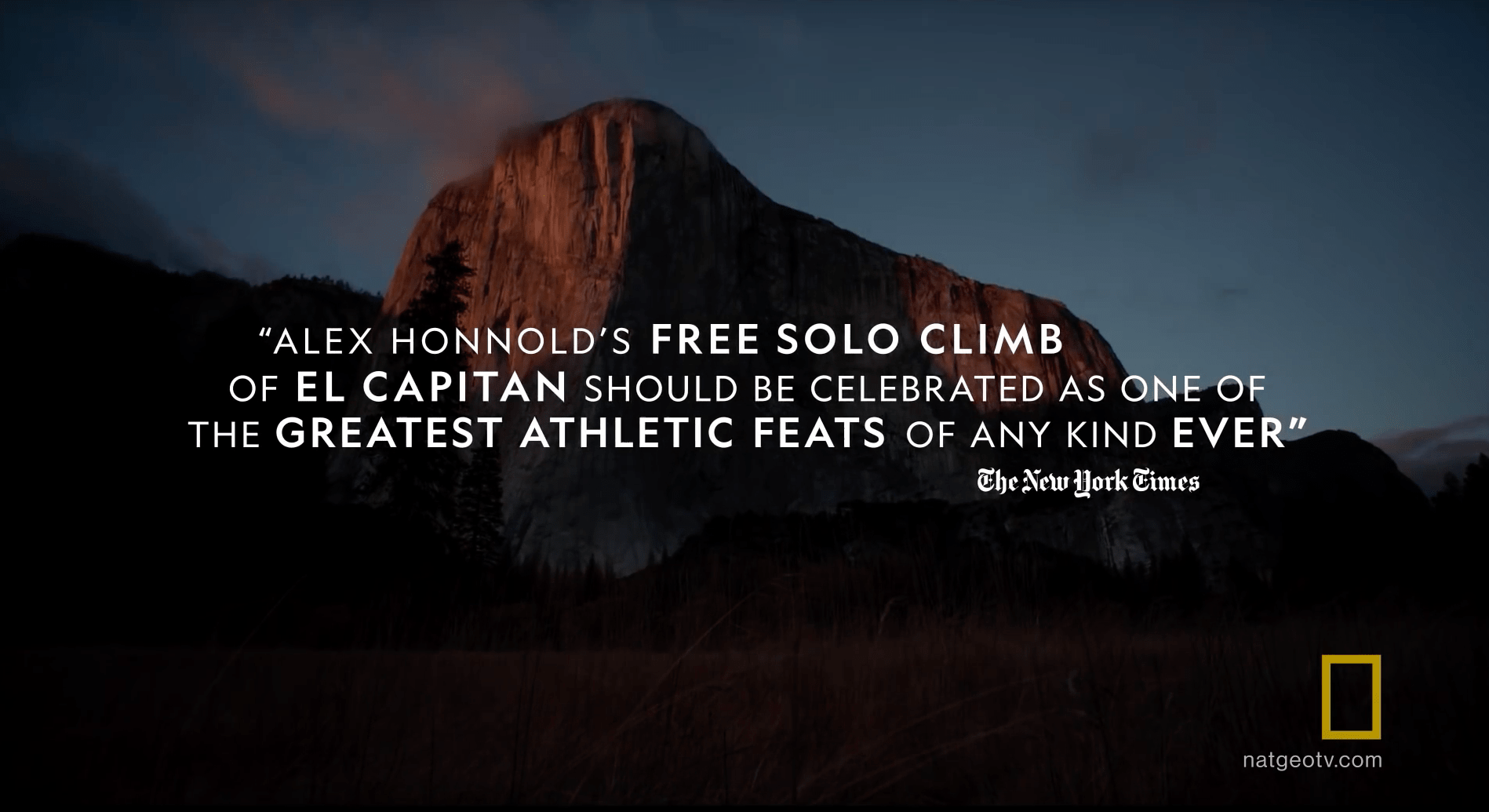 Alex honnold, El Capitan, solo climb, jimmy chin, movie trailer