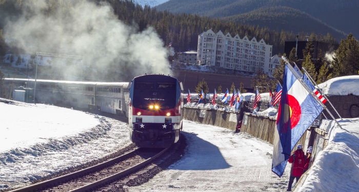 eskimo ski club, winter park, colorado, ski train