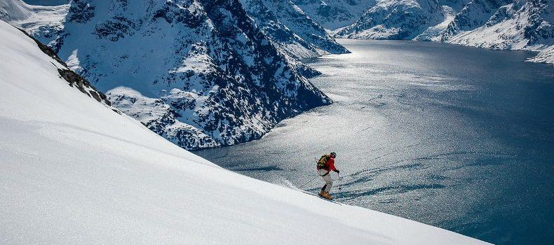 James orr, most expensive ski trip ever, Greenland, heliski, superyacht