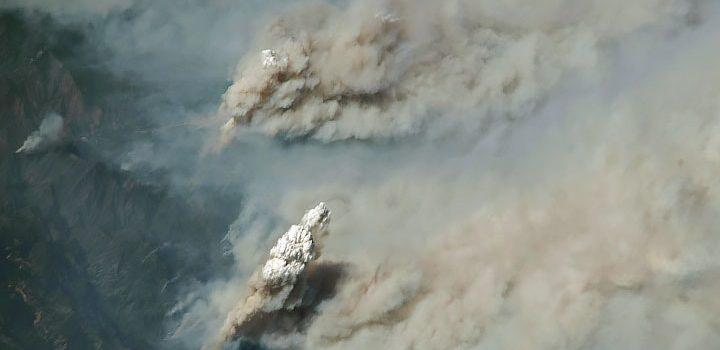 nasa, smoke, wildfire, california