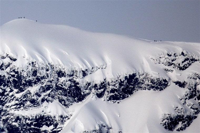 Swedens tallest peak shrinking