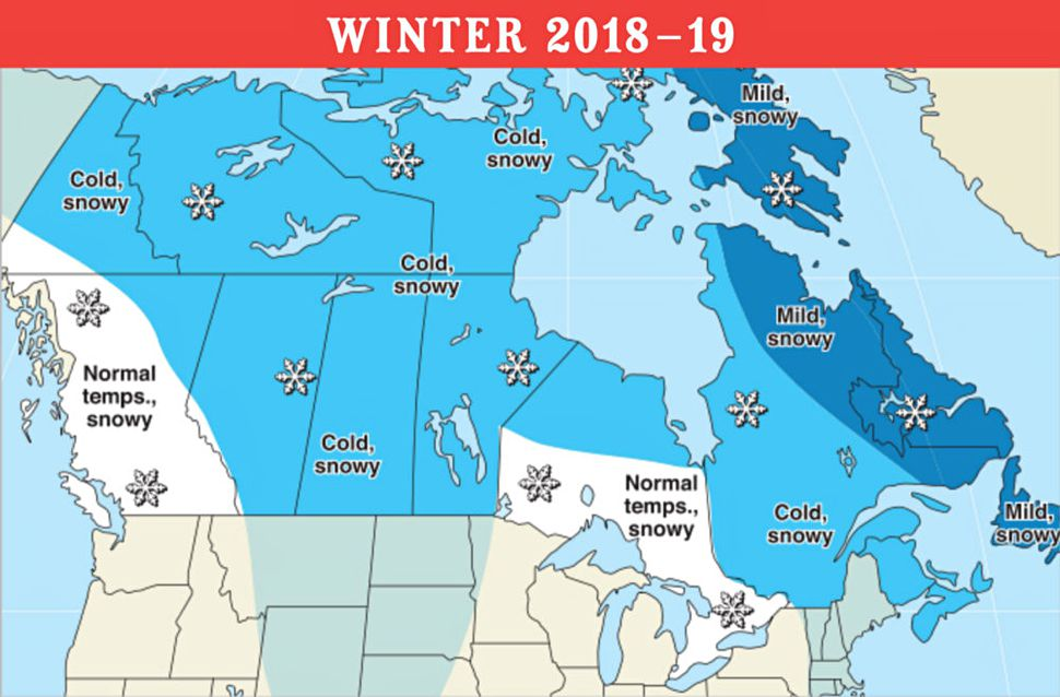 Winter 2018/2019 - Here's What the Old Farmer's Almanac is
